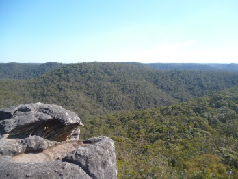 Muogamarra Nature Reserve, point loop walk, cowan, bushwalk, view