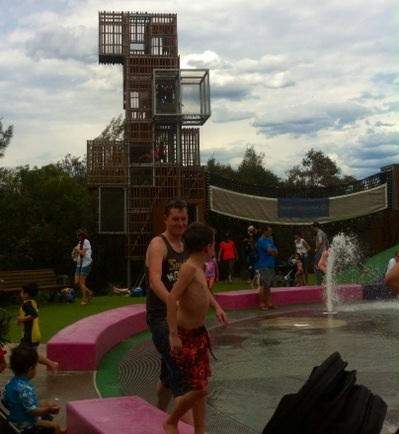 Park, kids, fun, water, play, flying fox, climbing, sandpit, family, BBQ