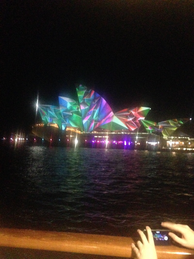 an ideal vivid sydney cruise, an ideal saturday night sydney harbour cruise, an ideal sydney harbour cruise