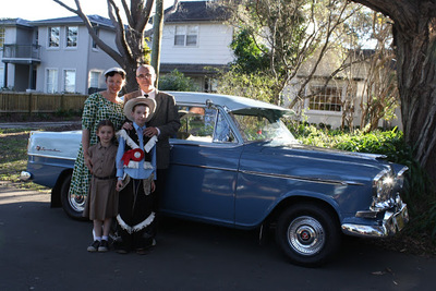 Fifties Fair Best Dressed Family