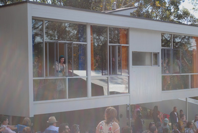 Fifties Fair Rose Seidler House
