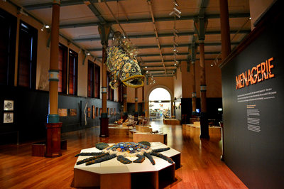 The Indigenous Australians exhibit