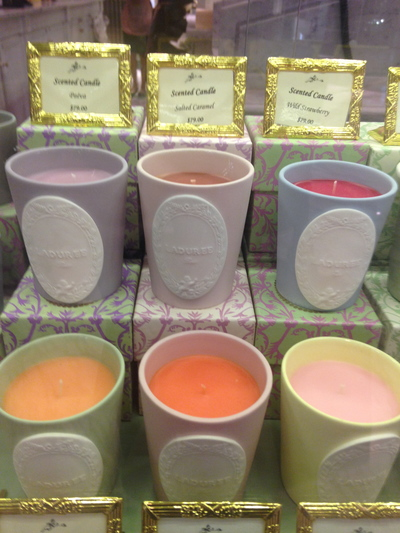 top places to buy candles in sydney city, top places to buy candles in sydney cbd, laduree sydney city, glasshouse fragrances