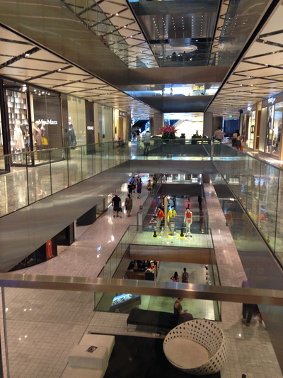 Westfield Sydney is an upscale world class shopping centre operated by Scentre Group and located beneath the Sydney Tower in the Sydney central business district. From Michael's guidebook Westfield boasts the largest shopping malls in Sydney, and Westfield Hurstville is on the large side.